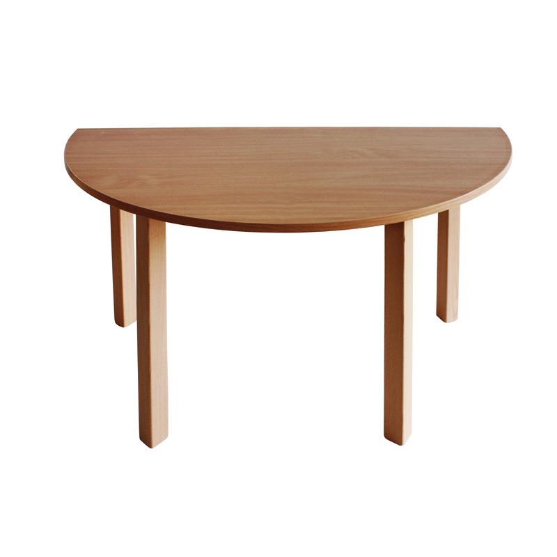 Stôl polkruh