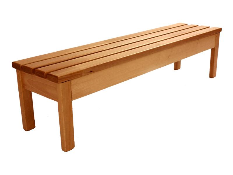 Detská buková lavička šírka 120 cm