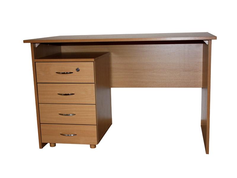 Písací stôl s kontainerom
