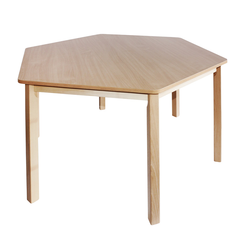 Stôl šesťhran