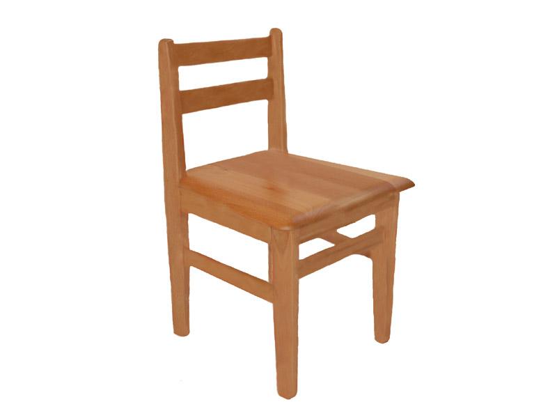 Detská buková stolička